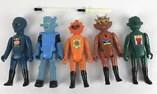 Tomland Starroid Raiders Action Figures, Lot of 5