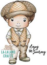 JAUNTY LUKA-La-La Land Crafts Cling Mount Rubber Stamp-Stamping Craft