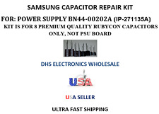SAMSUNG BN44-00202A CAPACITOR REPAIR KIT,  NO POWER/CYCLYING ON-OFF