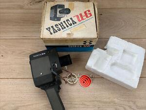 Yashica U-G Umatic-G 8mm Film Movie Camera with 1:1:8 Reflex Lens