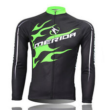 Merida Cycling bike Jersey Long Sleeve Jacket Top Winter Bicycle Cycle Clothes