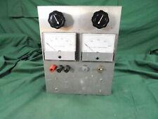 New listing Vintage Electronics Dc Volts Meter & Dc Milliamperes Meter Test Dial Instrument