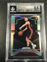TYLER HERRO 2019 PANINI PRIZM #259 SILVER REFRACTOR ROOKIE BGS 8.5 W/2 9.5 SUBS