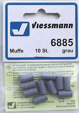 Viessmann 6885 manches gris, 10-pc # Neuf Emballage d'ORIGINE #