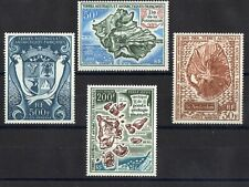 TAAF: SERIE COMPLETE DE 4 TIMBRES P.A. NEUF** N°21/24 Cote: 183,80€