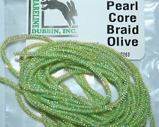 White River Fly Shop PCB310 Pearl Core Braid Red