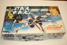 Star Wars vintage MPC X-Wing 1978 model kit - a few parts missing