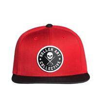 SULLEN SEAL SNAPBACK BADGE OF HONOR LOGO EMBROIDERED CAP HAT TATTOO RED BLACK