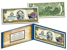 COLORADO Statehood $2 Two-Dollar Colorized U.S. Bill CO State *Legal Tender*