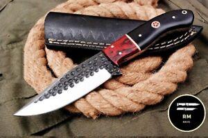 6'' SHARP NEW HANDMADE STEEL FULL TANG FIXED BLADE HUNTING KNIFE SURVIVAL KNIFE