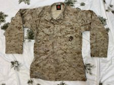 More details for us marine corps usmc marpat camouflage mccuu blouse coat used small long bj