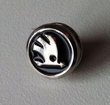 SKODA LOGO nero, prima d'argento... pin 12mm [12020]