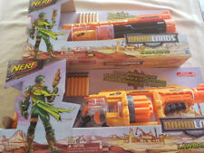 Hasbro Nerf Doomlands 2169 Lawbringer Blaster Dart Gun & Nerf Doomlands Vagabond
