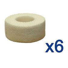 6x CMS Medical 2.5cm Professional Sports Strapping Tape Elastic Adhesive Bandage