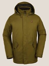 2018 NWT MENS VOLCOM PADRON INSULATED JACKET $200 L Moss