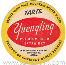 Yuengling Taste Beer Coaster