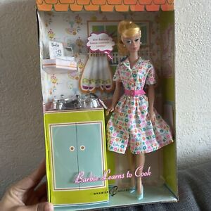 Learns To  Cook Barbie Reproduction Gold Label 2007