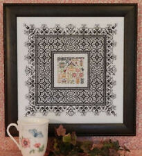 Black Lace Sampler - Rosewood Manor - New Chart