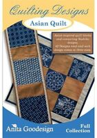 Anita Goodesign Asian Quilt Embroidery Machine Design CD NEW 136AGHD