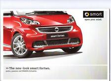 Smart fortwo pulse passion & brabus xclusive sales brochure 2011 2012