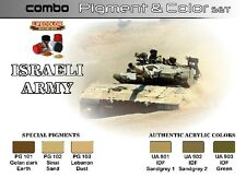 Lifecolor Acrylic Paint Sets LFC SPG1 Israeli Army Pigment and Color Acrylic Set