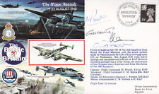 Flown Cover Battle of Britain Major Assault Signed  SeaKing Crew