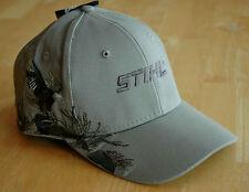 "Stihl Wildlife Series ""Eagle"" Gray Hat / Cap Adjustable"
