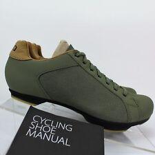 NWT Mens Giro Republic Road Cycling Shoes Green - Size US 6.5 / EU 39 $149.95