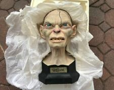 Sideshow Weta Lord Of The Rings Gollum 3/4 Scale Polystone Bust 1/1500 Lotr