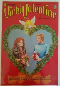 VICKI VALENTINE #2 1985 GOOD GIRL ART PAPER DOLLS COPPER AGE CHRISTMAS