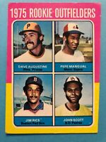 1975 Topps Card #616 Rookie Outfielders Jim Rice Boston Red Sox