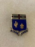 Authentic US Army 155th Infantry Regiment Unit DI DUI Crest Insignia NH