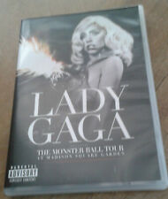 """DVD """"LADY GAGA : THE MONSTER BALL TOUR at Madison Square Garden"""" concert"""