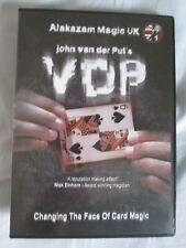 John Van Der Put Vdp Magic Tricks Conjuring Card Sleight of Hand Dvd