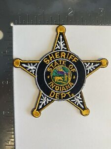 INDIANA SHERIFF DEPARTMENT PATCH