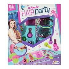 NEU Haarparty Haarschmuck Haarkreide Haarspangen Haarperlen Haarbänder Set