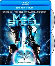 MAX STEEL (BEN WINCHELL) *NEW BLU-RAY+ DVD*