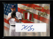 RYAN BERRY 2008 UPPER DECK SERIES TWO TEAM USA GAME PATCH AUTO #33/99 AX9656