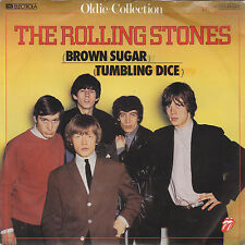 "Single 7"" The Rolling Stones ""Brown Sugar/Tumbling Dice"""