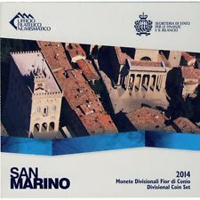 2014 san marino bu set 8 euro coins uncirculated