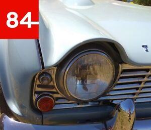 Triumph Spitfire MK1 - MK4 1500 TR4 TR6 TR7 2x Headlight E-Certified Eu +