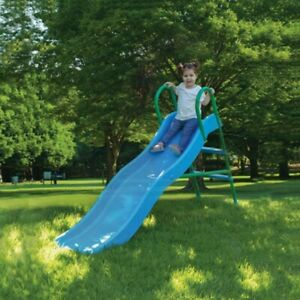 WAVY SLIDE & STEP IN WATER FEATURE CHILDRENS TOYS PLAY AREA SUPER STRONG & SAFE