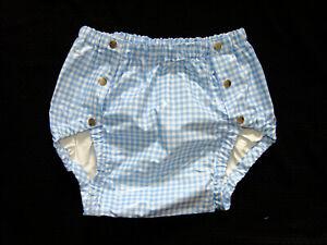 PVC-U-Like PVC Panties Underwear Unisex Vinyl Roleplay Plastic S/M Pants Popper