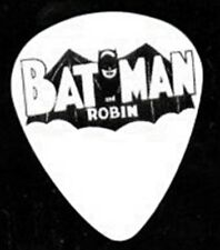 BATMAN AND ROBIN LOGO GUITAR PICK