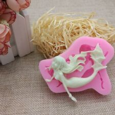 3D Mermaid Silicone Baking Mould Decoration Mold DIY Cake Decorating Tools