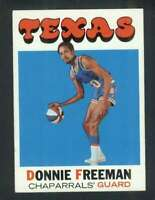 1971-72 Topps #220 Donnie Freeman EXMT+ RC Rookie 126841