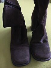 Women Designer Shoe Boots Size 37Med or 7 medium
