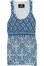 Brand New With Tags  MUNTHE PLUS SIMONSEN  Printed Tank Top  Size 38