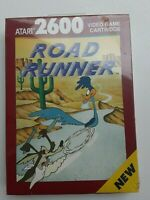 Atari 2600 Road Runner SEALED  NIB New with Hangtab 1989