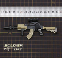 """Free Shipping 4D 1/6 Scale AKM Assault Rifle Weapon Gun for 12"""" Figure Solider"""